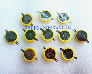 10 PCS x New Tabbed 3V CR2025 Battery For Game Boy Pokemon Red Blue Gold Silver