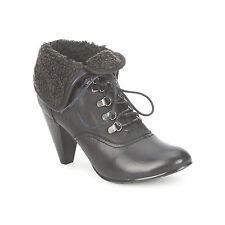 Kitten Heel Ankle 100% Leather Shoes for Women