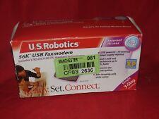 U.S. ROBOTICS USR5633A 56K USB Faxmodem