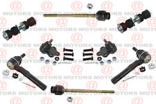 For Chevrolet Cavalier 97-05 Front Lh & Rh Tie Rods Ball Joints Sway Bar Link