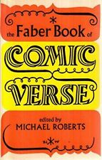 The Faber Book of Comic Verse, Roberts, Michael, Very Good, Paperback