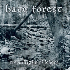 Hate Forest ‎– To Twilight Thickets CD Demo Reissued Black Metal Blackmetal NEW