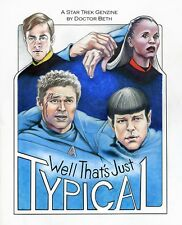 "Star Trek Beyond AOS Fanzine ""Well That's Just Typical"" GEN Spock Novel 2017"