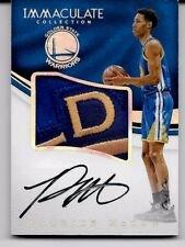 "Patrick McCaw # 1/1 ""Sick RPA"" Rookie Patch Auto Card 2016-17 Panini Immaculate"