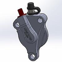Oberon KTM Clutch Slave Duke 690   Replaces (OEM Part) 79432061044 - Orange