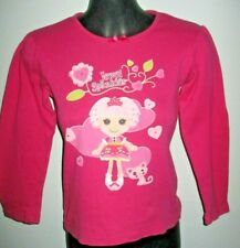 Lalaloopsy PJ Shirt Long Sleeve Size 8 (Aus). Pre-owned.Cotton/Polyester.