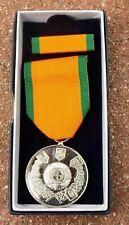 F.C.A. and Slua Muiri Stand Down Medal, with box IRISH MEDAL LAST ONE