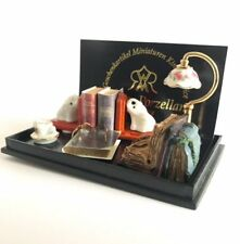 Book Set ~ Stunning 1/12th Scale Miniature By Reutter Porzellan!