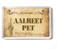 GEORDIE 7x4.5cm fridge magnet NEWCASTLE UPON TYNE  Aalreet Pet