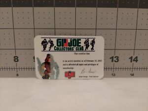 GI Joecon 2003 Club Convention exclusive Zartan File Card