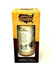 American Expedition Stainless Steel Travel Mug With Mustang Horse Picture