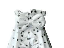 Amigos Himmel für Kinderbett Weiß mit Sternen 150x200 inkl. Schleife