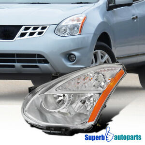 For 2008-2013 Nissan Rogue 2014-2015 Select Halogen Headlight Driver Left Side