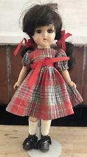 Rare Antique Madame Alexander McGuffey Brunette Doll Composition 12 in