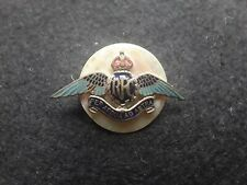WW1 ROYAL FLYING CORPS SWEETHEART BROOCH RFC RAF ROYAL AIR FORCE MOTHER OF PEARL