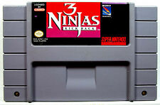3 Ninjas Kick Back (SNES) Game Only - Clean,Tested & Fast Shipping