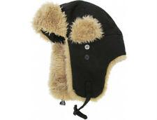 812b4f220 Faux Fur Aviator/Trapper Black Unisex Hats for sale | eBay