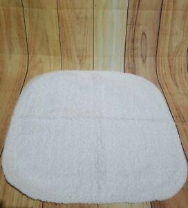 """BATH RUG White  20""""x20"""" 100% COTTON"""