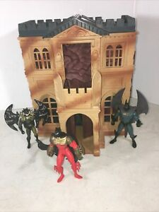 Vintage Batman Returns Wayne Manor Batcave Playset Command Center Kenner 1991