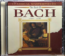 The Best of Bach (1685-1750) - Classical Masterpieces [Canada - Madacy] - NM/M