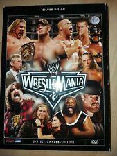 WrestleMania  DVD Sammler Edition   drei DVD's