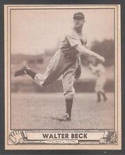 1940 Play Ball high #217 Walter Beck Phillies NrMt!