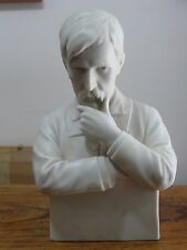 RRRRare USSR Soviet Russian Statue Bust  Porcelain Figurine Artist Poet Writer