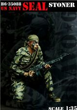 1/35 scale resin model kit us navy seal stoner vietnam figure