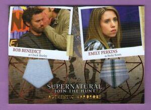 Supernatural Season 4-6: Wardrobe Card DM3 - Chuck Shurley and Becky Rosen