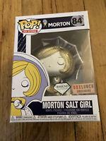 Funko POP Morton Salt Girl #84 Diamond Edition Box Lunch Exclusive Ad Icon New