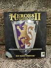 Heroes Of Might & Magic 2 Pc Game Big Box Vtg 1996 New World Computing Cib Gc