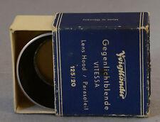 Voigtlander Vitessa Lens Hood 125-20 Excellent condition
