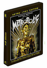 METROPOLIS RESTORED STEELBOOK 1984 EDITION - NEW / SEALED DVD - UK STOCK