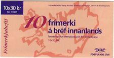 Island 1995 postfrisch Markenheft  von MiNr. 824  Tourismus  Fjallsjökull