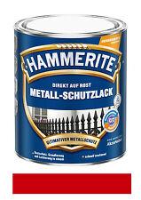 Hammerite Metallschutz-Lack Glänzend 750 ml rot NEUWARE Art. Nr. 5087584