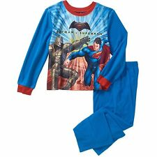 Boys Batman Vs Superman Battle 2pc Pajamas Set Size 4/5 New with Tags Kids New