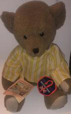Deans Childsplay British Wool Porridge Teddy Bear 1983 - New With Both Tags