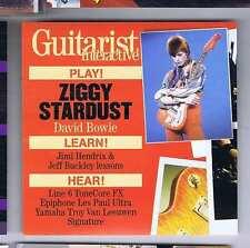 DAVID BOWIE / JIMI HENDRIX / JEFF BUCKLEY Guitarist CD GIT272 2006