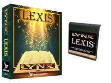 Lexis for the Atari Lynx BRAND NEW Songbird