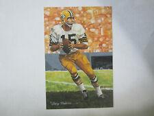 1994 Bart Starr Goal Line Art Card Green Bay Packers / Alabama