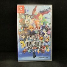 World of Final Fantasy Maxima (Nintendo Switch) English / Imported / Brand New
