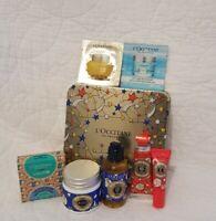L'Occitane En Provence Tin Box Travel Size -  Gift Set Black Friday Christmas