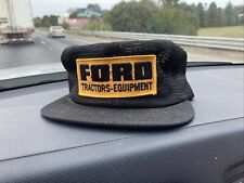 Vintage Ford Tractors Equipment Snapback Trucker Hat Cap 70s 80s Rare K Products