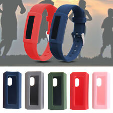 Jp_ Shockproof Silicone Watch Frame Protective Cover Case for Fitbit Alta Ace