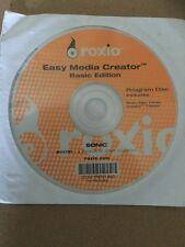 ROXIO - EASY MEDIA CREATOR - BASIC EDITION - CD SOFTWARE - 7 BASIC - SONIC