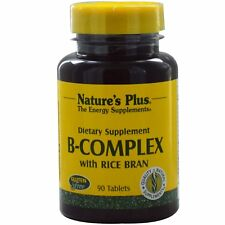 B-Complex with Rice Bran, 90 Tablets - Nature's Plus