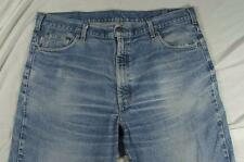 Carhartt B17 DST Faded Color Denim Work Jeans Tag 42x30 Measure 42x32