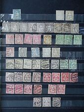 Switzerland Early Range of Used Stamps.