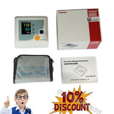 color FDA upper arm blood pressure monitor sphgmomanometer meter with adult cuff