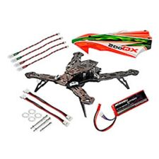 MICROHELI CNC AL/CF Race Quad Kit-200 QX MHE20QX005CF